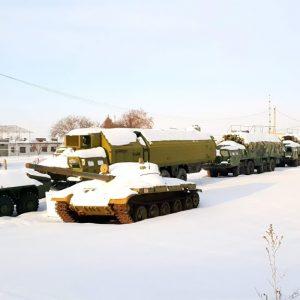 Abandoned Military Equipment, Central Ukraine