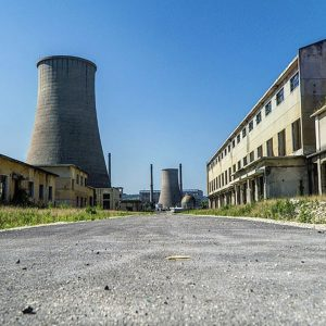 Albania - Abandoned Factory Complex 7