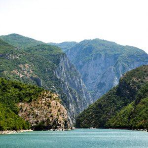 Albania - Lake Koman