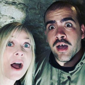 Albania - Legendary Scream Queen Barbara Crampton on the Set of Castle Freak