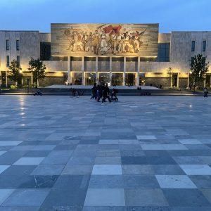 Albania - Skanderbeg Square