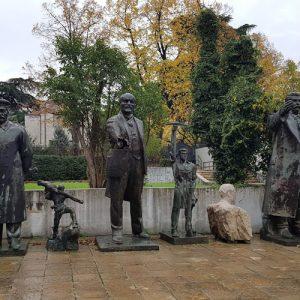 Albania - Socialist Era Statues