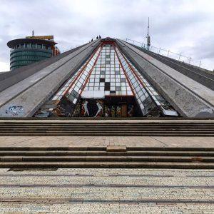 Albania - Tirana Pyramid - Day