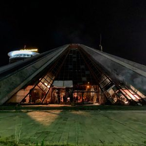 Albania - Tirana Pyramid - Night