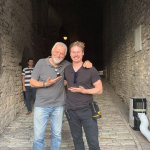 Albania - Composer Fabio Frizzi On The Set of Castle Freak
